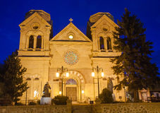 Cathedral Basilica of Saint Francis of Assisi Santa Fe, New Mexico Royalty Free Stock Image