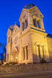 Cathedral Basilica of Saint Francis of Assisi Santa Fe, New Mexico Stock Image