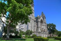 Cathedral Basilica of Saint Louis. The Cathedral Basilica of Saint Louis on Lindell Boulevard in St. Louis, Missouri Stock Photos