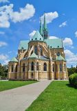 Cathedral Basilica of Saint. Stanislaus Kostka in Lodz Stock Images