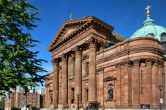 Cathedral Basilica of Saints Peter and Paul Stock Images