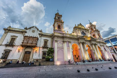 Cathedral Basilica in Salta, Argentina Royalty Free Stock Photo