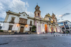 Cathedral Basilica in Salta, Argentina Royalty Free Stock Photos