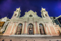 Cathedral Basilica in Salta, Argentina Royalty Free Stock Images