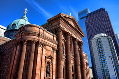 Cathedral Basilica SS. Peter and Paul Philadelphia stock image