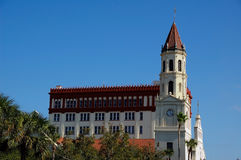 Cathedral Basilica of St Augustine Stock Photos