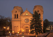 Cathedral Basilica of St-Francis stock photography