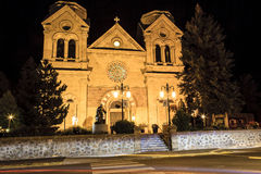 Cathedral Basilica of St. Francis of Assisi Stock Photography