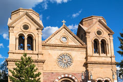 Cathedral Basilica of St Francis of Assisi. Santa Fe, New Mexico Royalty Free Stock Image