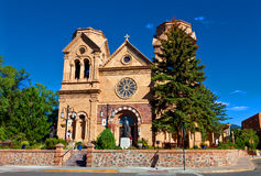 The Cathedral Basilica of St. Francis of Assisi Stock Photos