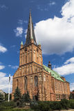 Cathedral Basilica of St James the Apostle in Szczecin Royalty Free Stock Images