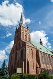 Cathedral Basilica of St. James the Apostle, Szczecin A. POLAND, SZCZECIN - 30 JUN 2015: Cathedral Basilica of St. James the Apostle, Szczecin A Stock Photography