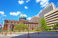 Cathedral Basilica of Sts Peter and Paul of Philadelphia Pennsyl Stock Photos