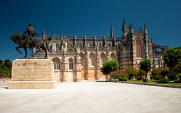 Cathedral of Batalha, Portugal Stock Images