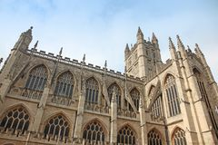 The cathedral in Bath, England Royalty Free Stock Image