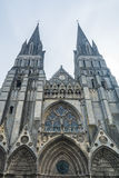 Cathedral of Bayeux. The Cathedral of Bayeux, France Royalty Free Stock Images