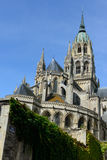 Cathedral Bayeux, France Stock Image