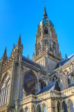 Cathedral of Bayeux, Normandy, France Stock Photography