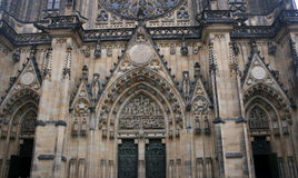 Cathedral. Beautiful and historic Cathedral of St.. Wit in the Czech capital stock photos