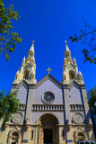 Cathedral. Beautiful cathedral in San Francisco California Stock Photo