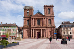 Cathedral of Belfort Royalty Free Stock Photos