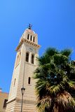 Cathedral bell tower, Rethymno. Stock Photo