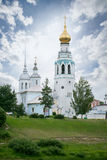 Cathedral bell tower of St. Sophia Cathedral in Vologda. City stock images