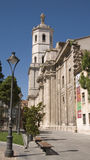 Cathedral and bell tower. Valladolid. Stock Photos