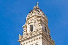 Cathedral Belltower. Lecce. Puglia. Italy. Royalty Free Stock Images