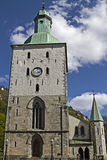 Cathedral in Bergen Stock Photo