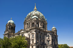Cathedral of Berlin. In Germany, Europe Royalty Free Stock Photography