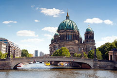 Cathedral of Berlin (Berliner Dom) Royalty Free Stock Photos