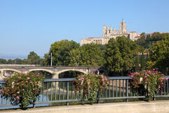 Cathedral of Beziers, France Royalty Free Stock Image