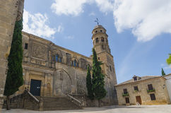 Cathedral of the Birth of Our Lady of Baeza Stock Images