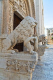 Cathedral of Bitetto. Puglia. Italy. Royalty Free Stock Photography