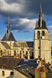Cathedral.Blois, France Stock Image