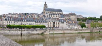 Cathedral of Blois in France Royalty Free Stock Images