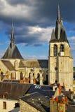 Cathedral.Blois, Frankreich Stockbild