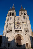 Cathedral of Blois Stock Images