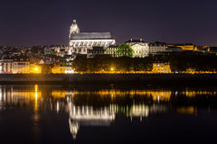 Cathedral of Blois at night Stock Image