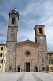 Cathedral. Bobbio. Emilia-Romagna. Italy. Stock Photos