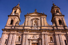 Cathedral of Bogotá Royalty Free Stock Image