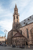 Cathedral of Bolzano Royalty Free Stock Photo