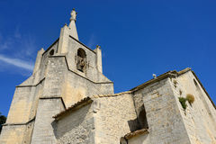 Cathedral in Bonnieux Royalty Free Stock Image