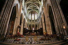 Cathedral in Bordeaux Royalty Free Stock Image