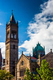 A cathedral in Boston, Massachusetts. Stock Images