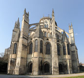 Cathedral of Bourges. Beautiful Cathedral of Bourges in Languedoc Roussillon royalty free stock images