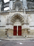 Cathedral in Bourges, France Royalty Free Stock Photography