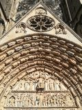 Cathedral of Bourges, France. Cathedral of Saint Etienne in Bourges, France stock image