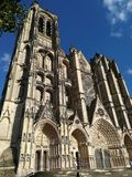 Cathedral of Bourges, France stock photo